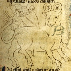 Бонакон (Рукопись Моргановской библиотеки в Нью-Йорке Manuscript. M.890, fol. 3v.)