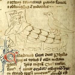 Харадр (Рукопись Моргановской библиотеки в Нью-Йорке Manuscript. M.890, fol. 12r.)