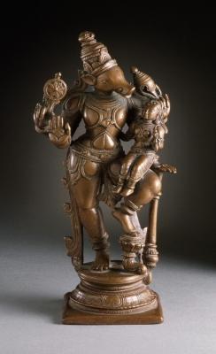 Вишну-Вараха. Медная статуэтка, около 1600 года