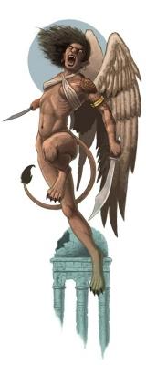 Мафтет. Концепт-арт персонажа для игры Pathfinder