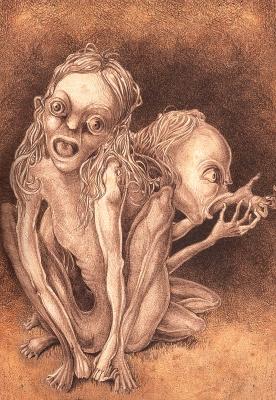 Majki (Мавки). Иллюстрация Витольда Варгаса (Witold Vargas)