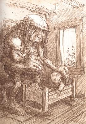 Мамуна. Иллюстрация Павла Зыха (Paweł Zych)