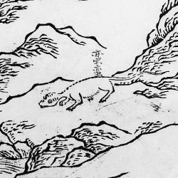 """Маньмань. Иллюстрация из """"Каталога гор и морей"""""""