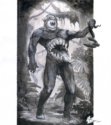 Мапингуари. Иллюстрация Мигеля Зуппо
