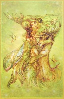 Мавка. Рисунок Алены (Fish-KA) Клементьевой