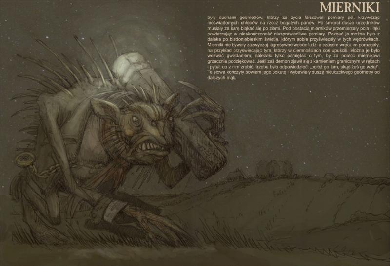Miernik (Мерник). Иллюстрация Павла Зыха (Paweł Zych)