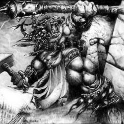 Таурен. Концепт-арт к игре Warcraft III
