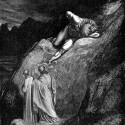 """Минотавр на иллюстрации Г.Доре к """"Божественной комедии"""" Данте Алигьери (Inferno, XII, 11-14)"""