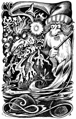 Моховик и Лозовик. Рисунок Ольги Анциферовой