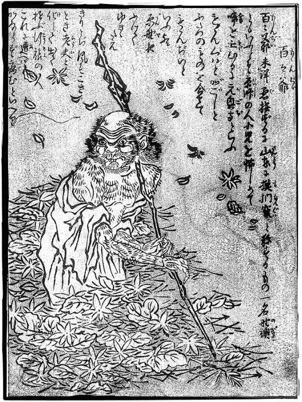 Момондзии. Иллюстрация Ториямы Сэкиэна