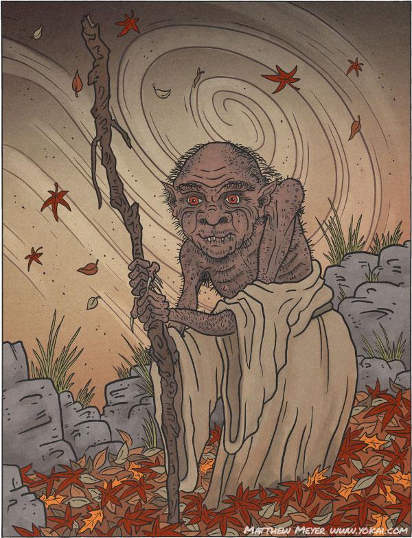 Момондзии. Иллюстрация Мэтью Мэйера