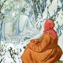 Морозко. Иллюстрация Ивана Билибина (1931)