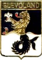 Морской лев Элеволанда, провинции Нидерландов (значок)