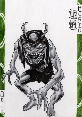Морё. Иллюстрация Лукаса Перейры
