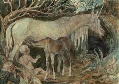 Единороженица. Рисунок Светланы Игнатовой