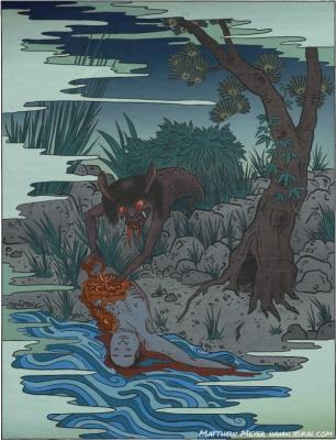 Морё. Иллюстрация Мэттью Мэйера