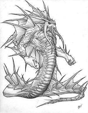 Нага-мужчина из мира Warcraft