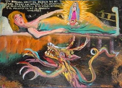 Ретабло за избавление от нагваля, 1983 год