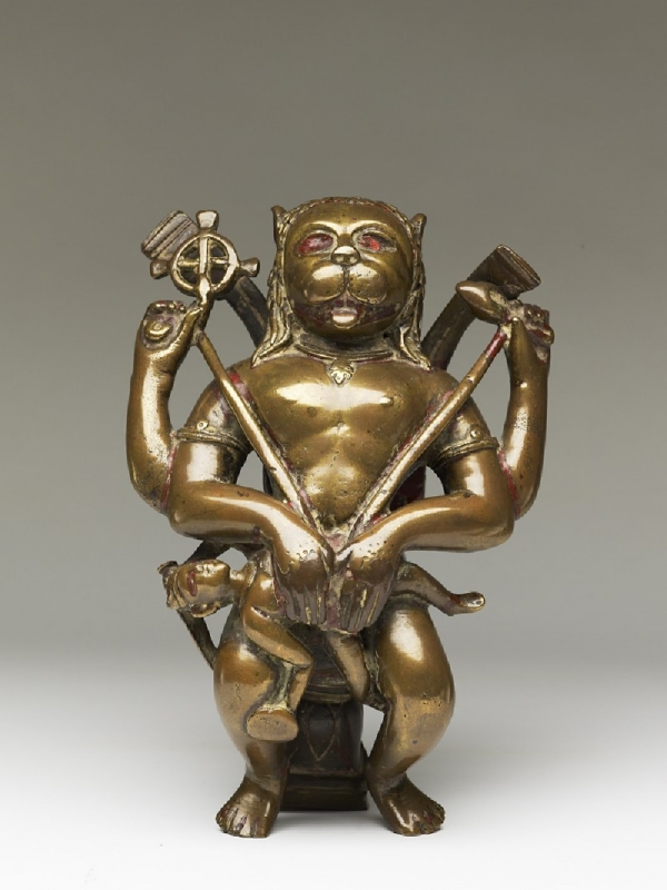 Нарасимха. Статуэтка XV века