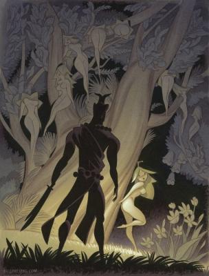 Дерево Нарифон. Рисунок Билла Пресинга