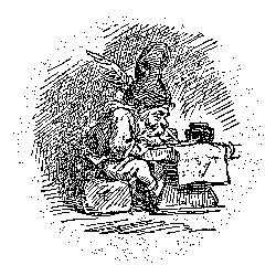 """Ниссе. Иллюстрация из """"Энциклопедии сверхъестественных существ"""" К.Королёва"""