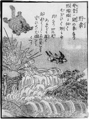 Нобусума. Иллюстрация Ториямы Сэкиэна