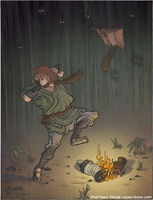 Нобусума. Иллюстрация Мэттью Мэйера