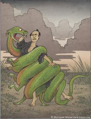Номори. Иллюстрация Мэтью Мэйера