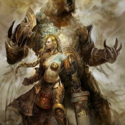 "Norn. Концепт-арт к игре ""Guild Wars 2"""