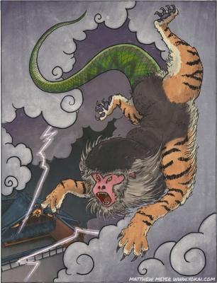 Нуэ. Иллюстрация Мэтью Мэйера