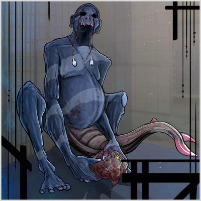 Нури-ботокэ. Иллюстрация Джо Холдсворта