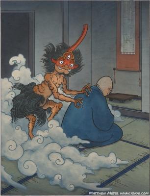 Нёи-дзидзай. Рисунок Мэтью Мэйера