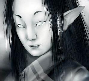 Обакэ. Иллюстрация Николая Дихтяренко