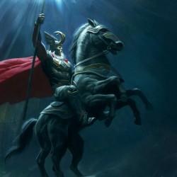 "Слейпнир. Концепт-арт Майкла Кутши к фильму ""Тор"""