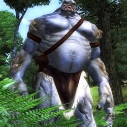 Огр из компьютерной игры Oblivion