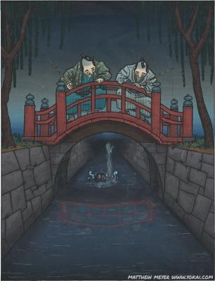 Оитэкэ-бори. Иллюстрация Мэтью Мэйера