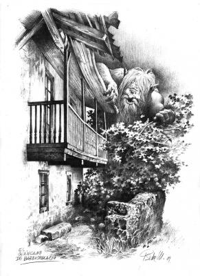 Оханкано. Иллюстрация Исидре Монеса