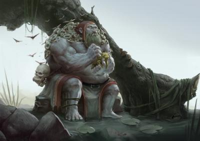 Болотник. Иллюстрация Олега Ротара