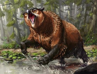 Совомедведь. Иллюстрация Карлоса Эулефи (Kaek)