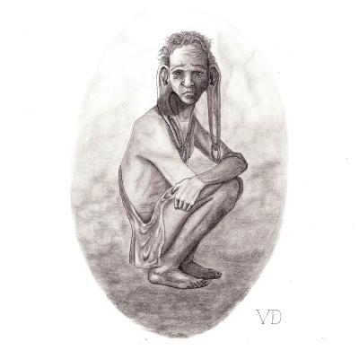 Панотий. Рисунок Валентина Дельвесто