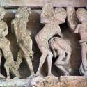 Панотии на тимпане собора в Везеле