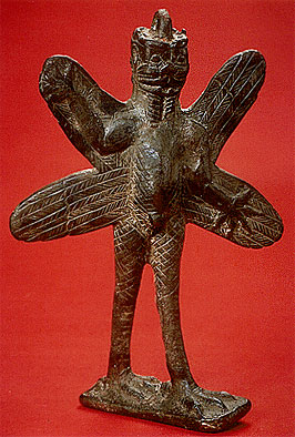 Статуэтка Пазузу. Ирак, 800-600 до н.э.