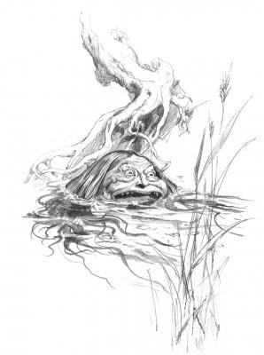 Пег Паулер. Иллюстрация Брайана Фрауда