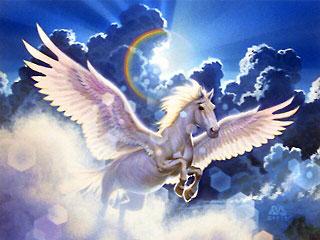 """""""Pegasus"""". Иллюстрация Дэна Бове (Den Beauvais)"""