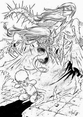 Перикана. Иллюстрация Дани Мендозы