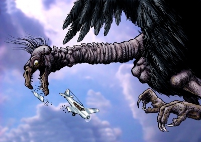 Карканья. Иллюстрация Ричарда Свенссона