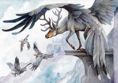 Перитии. Иллюстрация Грейс Оувен