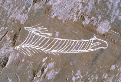 Чипитчкаум. Наскальное изображение