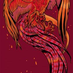 Феникс. Иллюстрация Мелиты Кёрфи