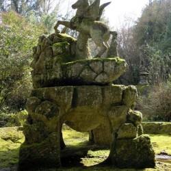 Пегас. Статуя Священного леса